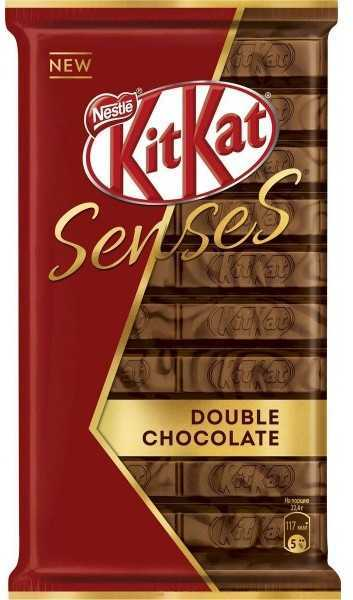 Шоколад Kitkat Senses Double Chocolate
