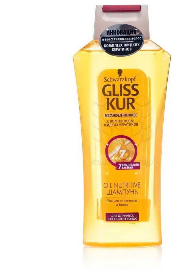 Шампунь Gliss Kur Oil Nutritive