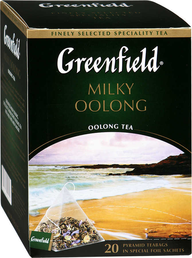 Чай Greenfield Milky Oolong 25 пакетиков
