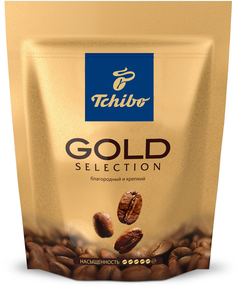 Кофе Tchibo Gold Selection натуральный растворимы сублимированный