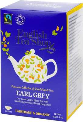 Чай English Tea Shop Earl grey 20 пакетиков