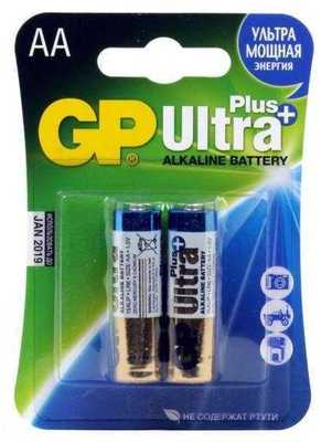 Батарейки GP Ultra Plus AA 2 шт