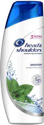 Шампунь Head & Shoulders против перхоти ментол