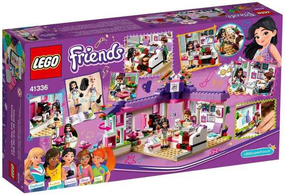 Конструктор Lego Friends Арт-кафе Эммы