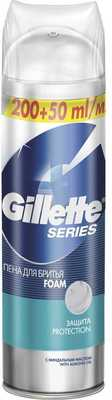 Пена для бритья Gillette Series Protection Защита