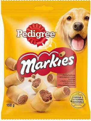 Корм Pedigree Markies для собак рулетики