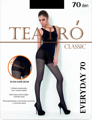 Колготки Teatro classic everyday 70 den nero размер 4