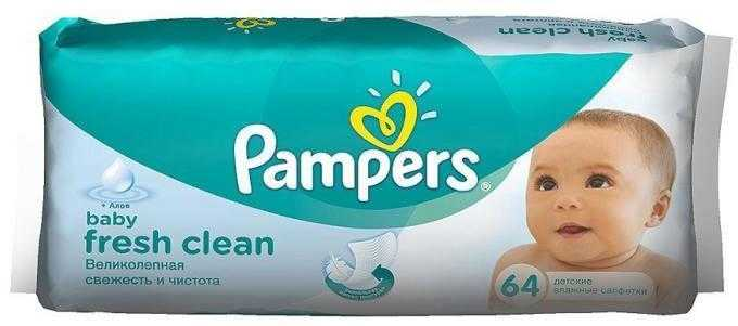 Салфетки Pampers Baby Fresh 64 шт