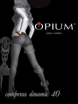 Колготки OPIUM Compress Dinamic 40 den nero размер 5