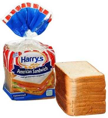 Хлеб Harry's American Sandwich пшеничный