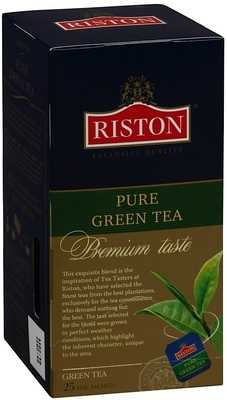 Чай зеленый Riston Pure green 25 пакетиков