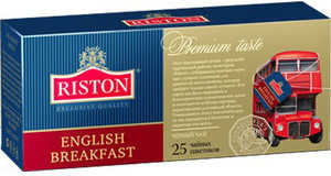 Чай черный Riston English Breakfast 25 пакетиков