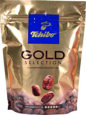 Кофе Tchibo Gold selection растворимый