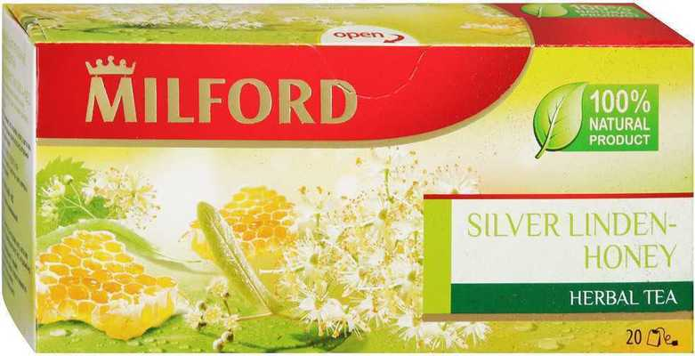 Чай Milford Silver linden-honey 20 пакетиков