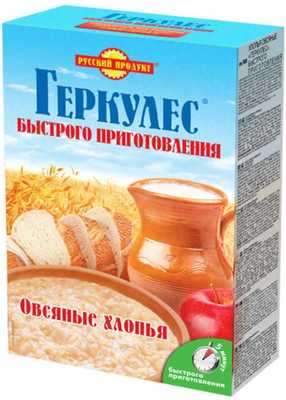 Геркулес Русский продукт хлопья овсяные быстрого приготовления